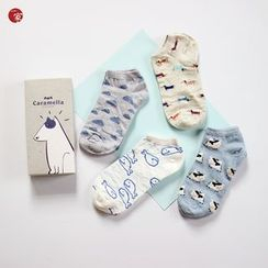 Socka - Pair of 4: Printed Socks