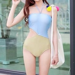 Roseate - Cut Out Swimsuit