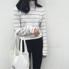 Alfie - Turtleneck Striped Top