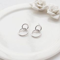 Love Generation - Circle Earrings