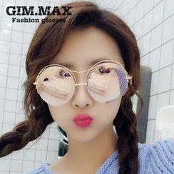 GIMMAX Glasses - 双梁圆形太阳眼镜
