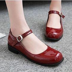Sidewalk - 扣帶平跟鞋