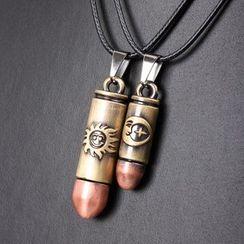 KINNO - Couple Bullet Necklace