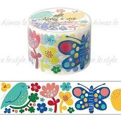 Aimez le style - Aimez le style Masking Tape Primaute Wide Finnish Flower