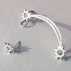 A'ROCH - 花形不对称耳环