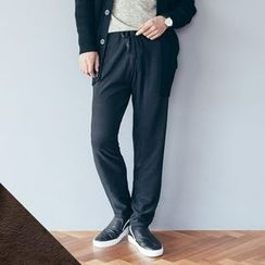 DANGOON - Faux-Fur Lined Sweatpants