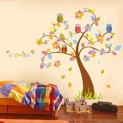 LESIGN - Owl Tree Wall Sticker