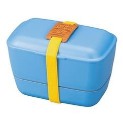 Hakoya - Hakoya American Vintage Dome 2 Layer Lunch Box (Blue)