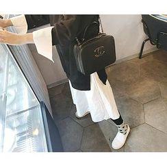 MARSHMALLOW - Monk Two-Piece Midi Dress