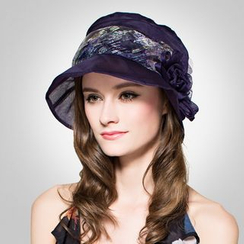 BADA - 真丝遮阳帽