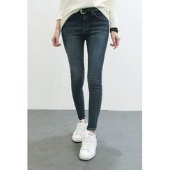 ATTYSTORY - Washed Skinny Jeans