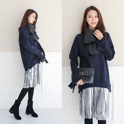 WITH IPUN - Inset Pullover Dress