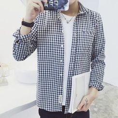 Bay Go Mall - Gingham Shirt