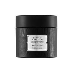 The Face Shop - Charcoal In White Clay 100g
