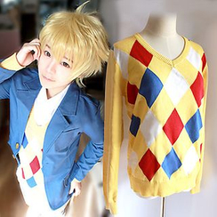 Ghost Cos Wigs - Beyond the Boundary Akihito Kanbara Cosplay Costume - Sweater