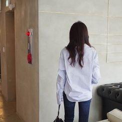 mimi&didi - Striped Cotton Shirt