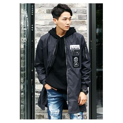HOTBOOM - Appliqué Zip Jacket