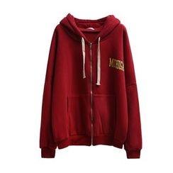 Primula - Printed Back Hooded Zip Jacket