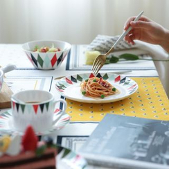 川岛屋 - 菱形纹陶瓷餐具