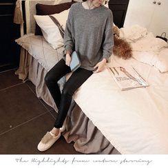 NANING9 - Brushed-Fleece Pullover