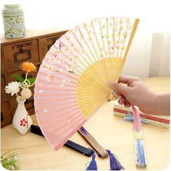 Good Living - Printed Hand Fan