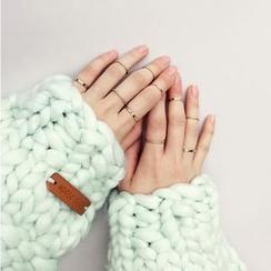 Dollu - 十件套: 戒指