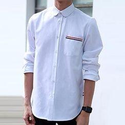 Blueforce - Contrast Trim Shirt