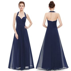 Ever Pretty - Halter Sheath Evening Gown