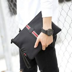 BagBuzz - 條紋貼布繡手包