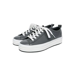 JOGUNSHOP - Platform Faux-Leather Sneakers