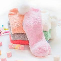 SouthBay Shoes - Coral Fleece Socks