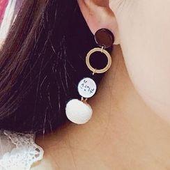 Abigail - Non Matching Drop Earrings