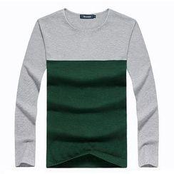 Lutai - Color-Block Sweater
