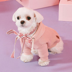 chuu - Pet Brushed-Fleece Lined Hoodie Costume