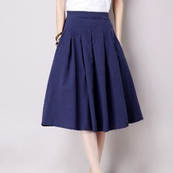 Splashmix - Plain A-Line Skirt