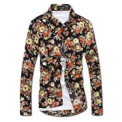 MR.PARK - Long-Sleeve Floral Shirt