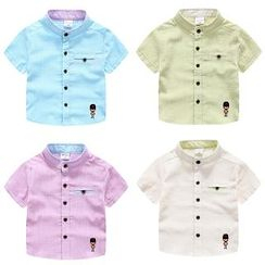 WellKids - Kids Embroidered Shirt