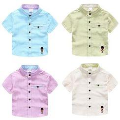 WellKids - 儿童刺绣衬衫