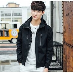 Consto - Plain Zip Jacket