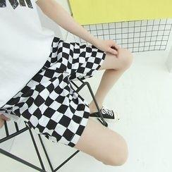 Chuoku - Checked Shorts