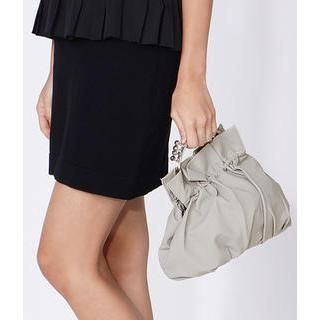 yeswalker - Kiss-Lock Faux Leather Handbag