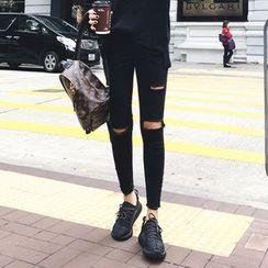 Napkiki - Distressed Skinny Pants