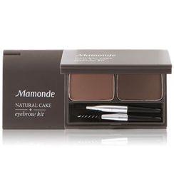Mamonde - Natural Cake Eyebrow Kit