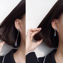 Calypso - Non-matching Tasseled Earrings