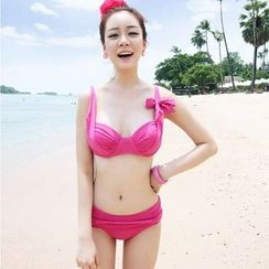 Tamtam Beach - Tied Shirred Bikini