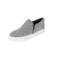 DABAGIRL - Furry Colored Slip-Ons