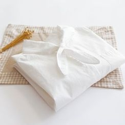 布丁坊 - 蝴蝶結襯衫
