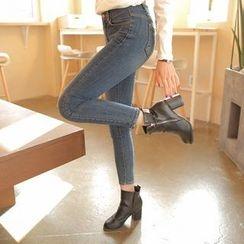 Cherryville - Fleece-Lined Skinny Jeans