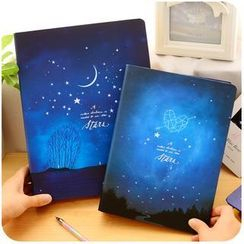 Momoi - A5 / B5 Star Night Notebook