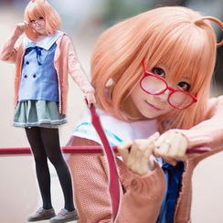 Cosgirl - Beyond the Boundary Kuriyama Mirai Cosplay Costumes